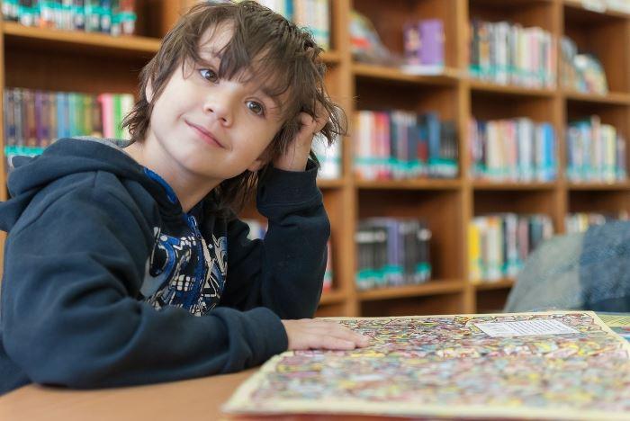 Biblioteka Jaworzno:  Wakacje w Bibliotece